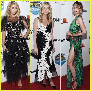 Paris Hilton Joins Sister Nicky & Paris Jackson at CASA Gala in Beverly Hills