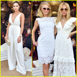 Paris Hilton & Olivia Culpo Kick Off Coachella With Rachel Zoe at ZOEasis!