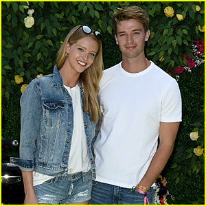 Patrick Schwarzenegger & Girlfriend Abby Champion Are a Denim Duo at Coachella