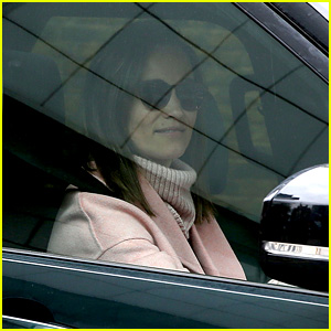 Pippa Middleton Visits New Nephew for First Time at Kensington Palace!