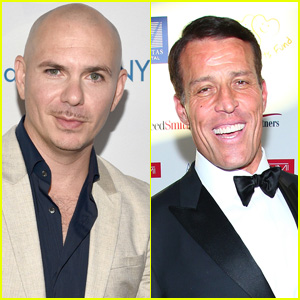 Pitbull Will Go on Tour With Life Coach Tony Robbins in 2019!