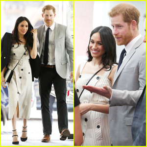 Prince Harry & Meghan Markle Step Out for Thier First Joint Commonwealth Youth Forum Meeting