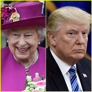 Queen Elizabeth Cracks Joke Involving Donald Trump