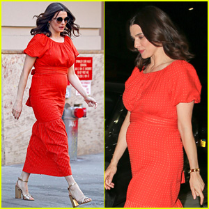 Rachel Weisz Debuts Her Baby Bump After Pregnancy Announcement