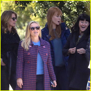Reese Witherspoon & 'Big Little Lies' Co-Stars Break for Lunch in Monterey