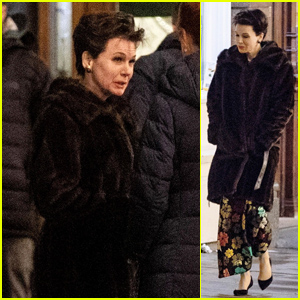 Renee Zellweger Films 'Judy' Biopic in Character as Judy Garland - See the Pics!