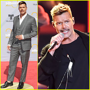Ricky Martin Brings the Heat to Billboard Latin Music Awards 2018!