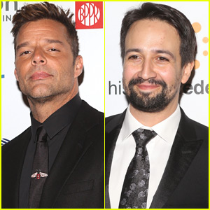 Ricky Martin & Lin-Manuel Miranda Suit Up for Hispanic Foundation Gala in NYC