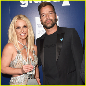 Ricky Martin Presents Britney Spears with Vanguard Award at GLAAD Media Awards 2018 - Watch Here!