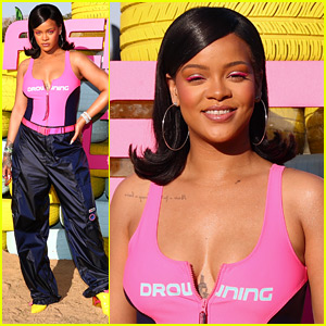 Rihanna Hosts a Star-Studded Pool Party During Coachella!