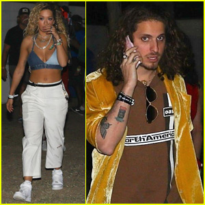 Rita Ora is Joined by Boyfriend Andrew Watt at Coachella!