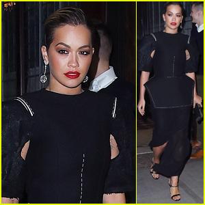 Rita Ora Steps Out Amid Rumors of an 'X Factor' Return