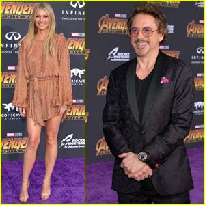 Robert Downey Jr. & Gwyneth Paltrow Reunite at 'Avengers: Infinity War' Premiere