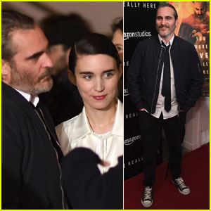 Rooney Mara Supports Joaquin Phoenix at 'You Were Never Really Here' Premiere