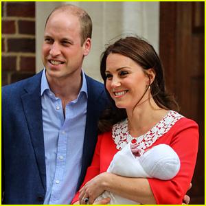Prince Louis Arthur Charles: Kate Middleton & Prince William Reveal Royal Baby Name!