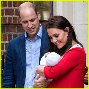 Prince William Teases Royal Baby's Name, Jokes with Reporters