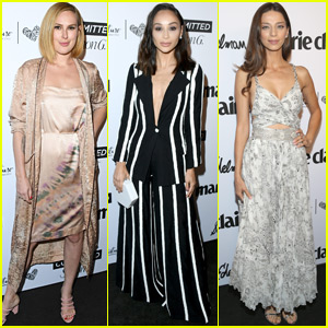Rumer Willis Joins Cara Santana & Angela Sarafyan at Marie Claire Fresh Faces Event
