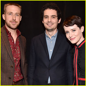 Ryan Gosling & Claire Foy Debut 'First Man' Teaser at CinemaCon 2018