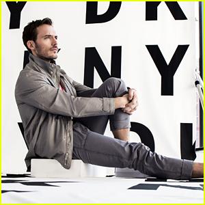 Sam Claflin Stars in DKNY Men's Spring 2018 Campaign!
