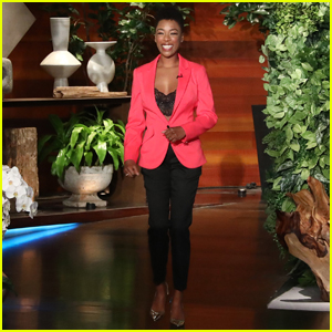 Samira Wiley Makes First Visit to 'Ellen' & Calls Her 'Lord of the Lesbians'