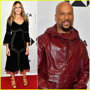 Sarah Jessica Parker & Common Premiere 'Blue Night' at Tribeca Film Festival!