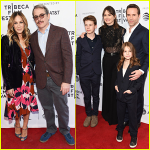 Sarah Jessica Parker Supports Hubby Matthew Broderick at 'To Dust' Tribeca Fest Premiere!
