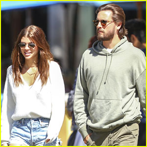 Scott Disick & Sofia Richie Start Weekend With Lunch Date