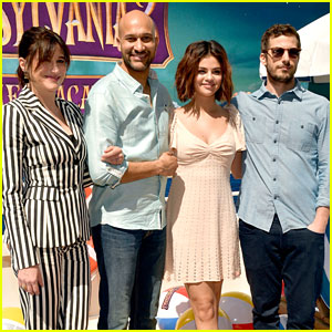 Selena Gomez & Andy Samberg Join Co-Stars at 'Hotel Transylvania 3' Photo Call