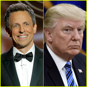 Seth Meyers Humorously Responds to Donald Trump's Diss