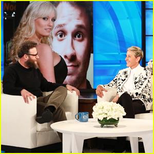 Seth Rogen Tells 'Ellen' That Stormy Daniels Told Him About Alleged Trump Affair A Decade Ago