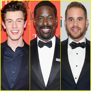 Shawn Mendes, Sterling K. Brown, & Ben Platt Suit Up for Time 100 Gala