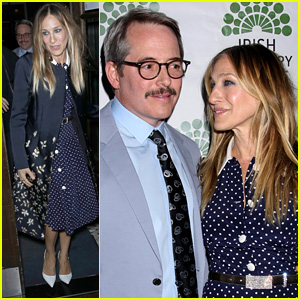 Sarah Jessica Parker & Matthew Broderick Couple Up on the Red Carpet at Opening Night of 'The Seafarer'!
