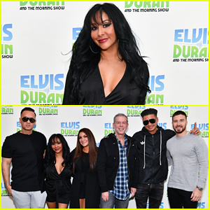 'Jersey Shore' Cast Visit NYC's Z100 Ahead Of 'Family Vacation' Premiere!