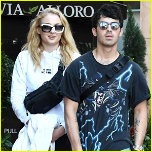Sophie Turner & Joe Jonas Enjoy a Lunch Date in Beverly Hills