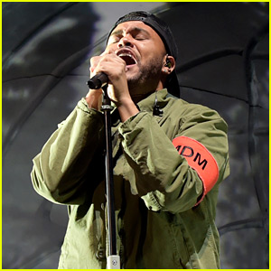 The Weeknd Gets Emotional During Coachella 2018 Set