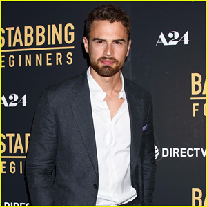 Theo James Suits Up for 'Backstabbing for Beginners' New York Premiere - Watch Trailer!