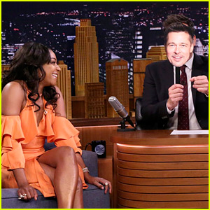 Tiffany Haddish Acts Out a Hypothetical First Date with 'Brad Pitt'