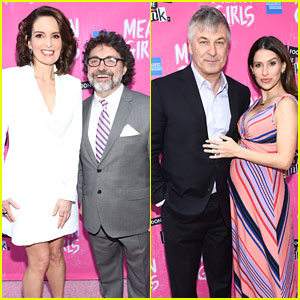 Tina Fey & Husband Jeff Richmond Get Lots of Friendly Support at 'Mean Girls' Broadway Opening!