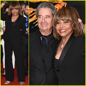 Tina Turner Makes Rare Public Appearance to Support Opening of Musical Based on Her Life