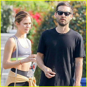 Tobey Maguire Hits the Gym With Mystery Woman in LA - See Pics!