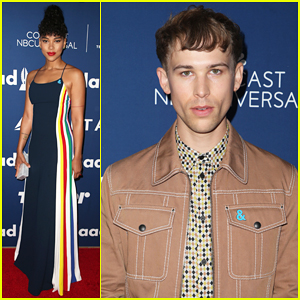 Tommy Dorfman, Alexandra Shipp & More Step Out for GLAAD's Rising Star Luncheon 2018!