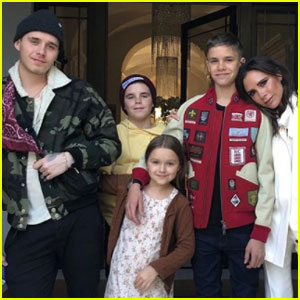David & Victoria Beckham's Kids Look So Grown Up in New Family Photo!