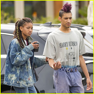 Willow Smith & Tyler Cole Step Out Ahead of His 'Love at First Fight' Music Video Screening