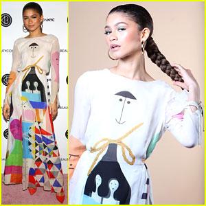 Zendaya Talked Hollywood Beauty Standards at Beautycon 2018