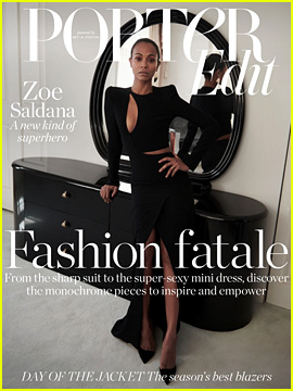 Zoe Saldana Reveals Why She Turns Down Selfies with Fans in Front of Her Kids