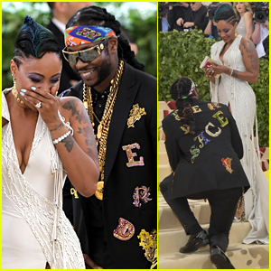 2 Chainz Proposes to Wife Kesha at Met Gala 2018!