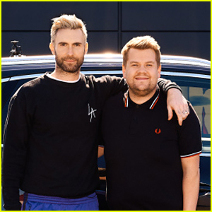 Adam Levine & James Corden Get Pulled Over by Police During 'Carpool Karaoke' - Watch Now!