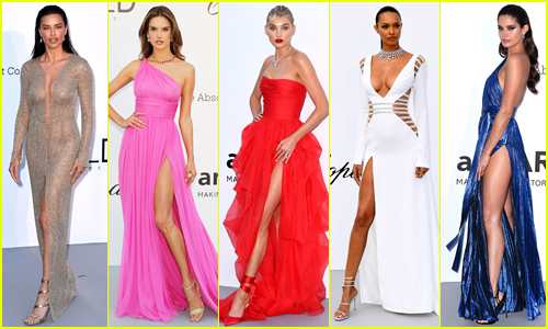 Adriana Lima, Alessandra Ambrosio & Victoria's Secret Angels Stun at Cannes amfAR Gala 2018!