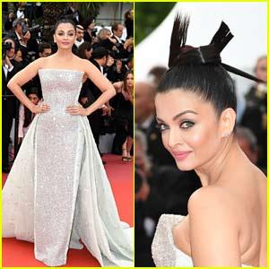 Bollywood Star Aishwarya Rai Look So Elegant on Cannes Red Carpet!