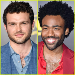 Alden Ehrenreich & Donald Glover Look So Handsome at 'Solo: A Star Wars Story' Premiere!